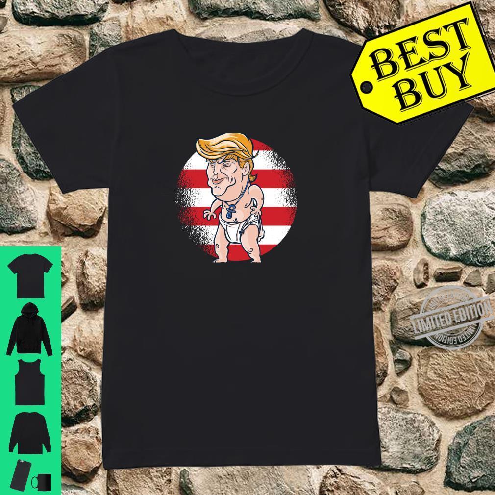 Baby Donald Trump Shirt ladies tee