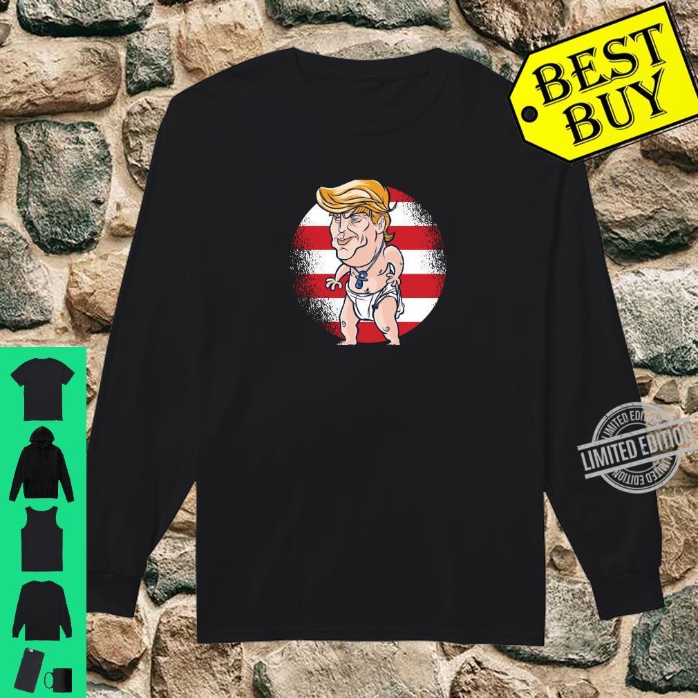 Baby Donald Trump Shirt long sleeved