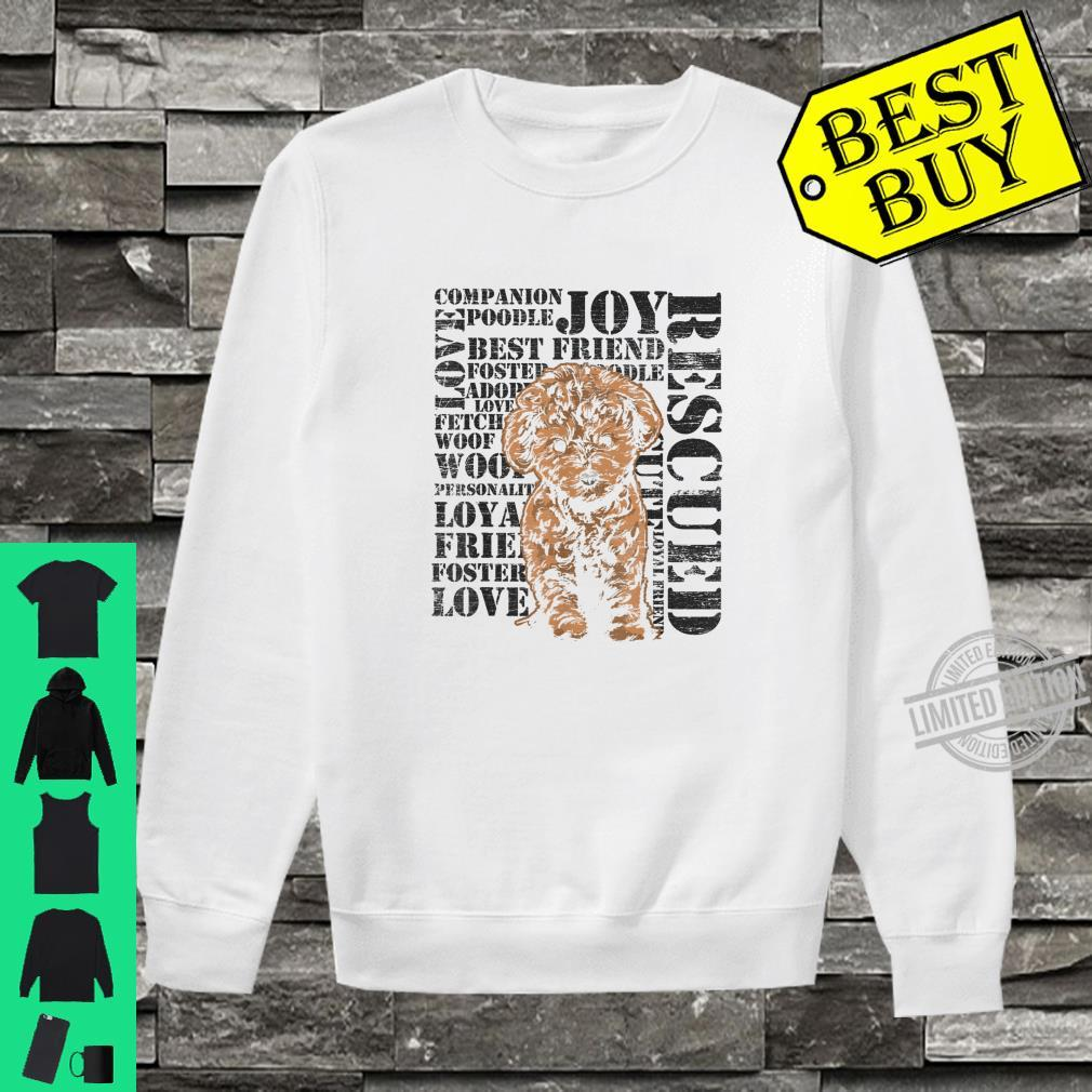 Distressed Rescued Pets Shirt sweater